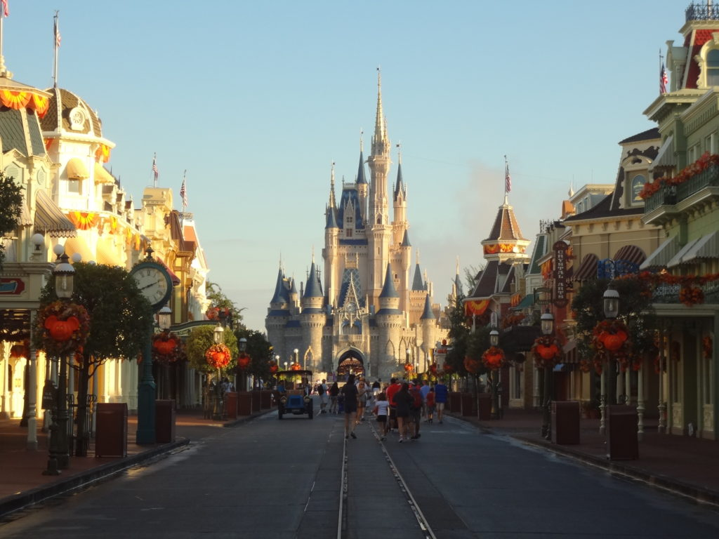 magic kingdom vazio