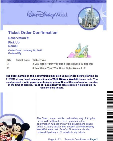 voucher Disney