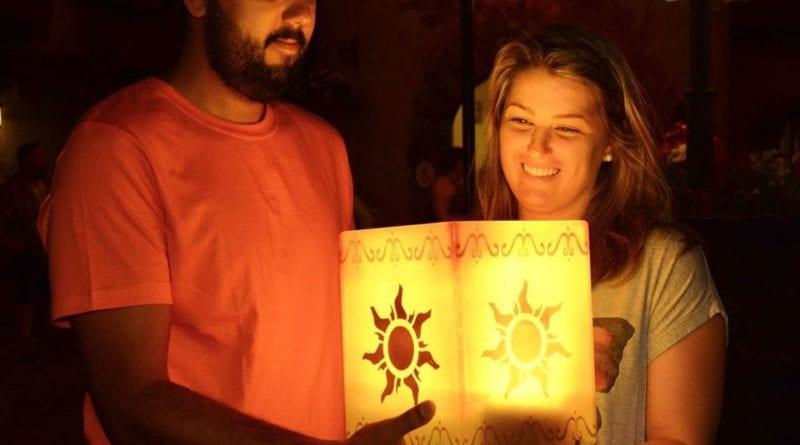 lanterna rapunzel magic kingdom