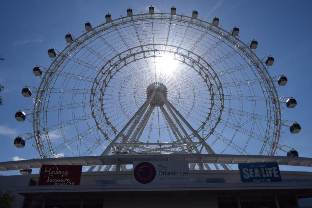 A linda e majestosa roda-gigante, The Orlando Eye