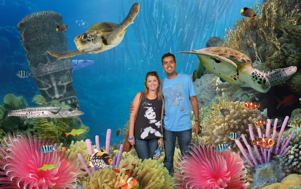 Foto oficial de um dos fotógrafos do aquário.