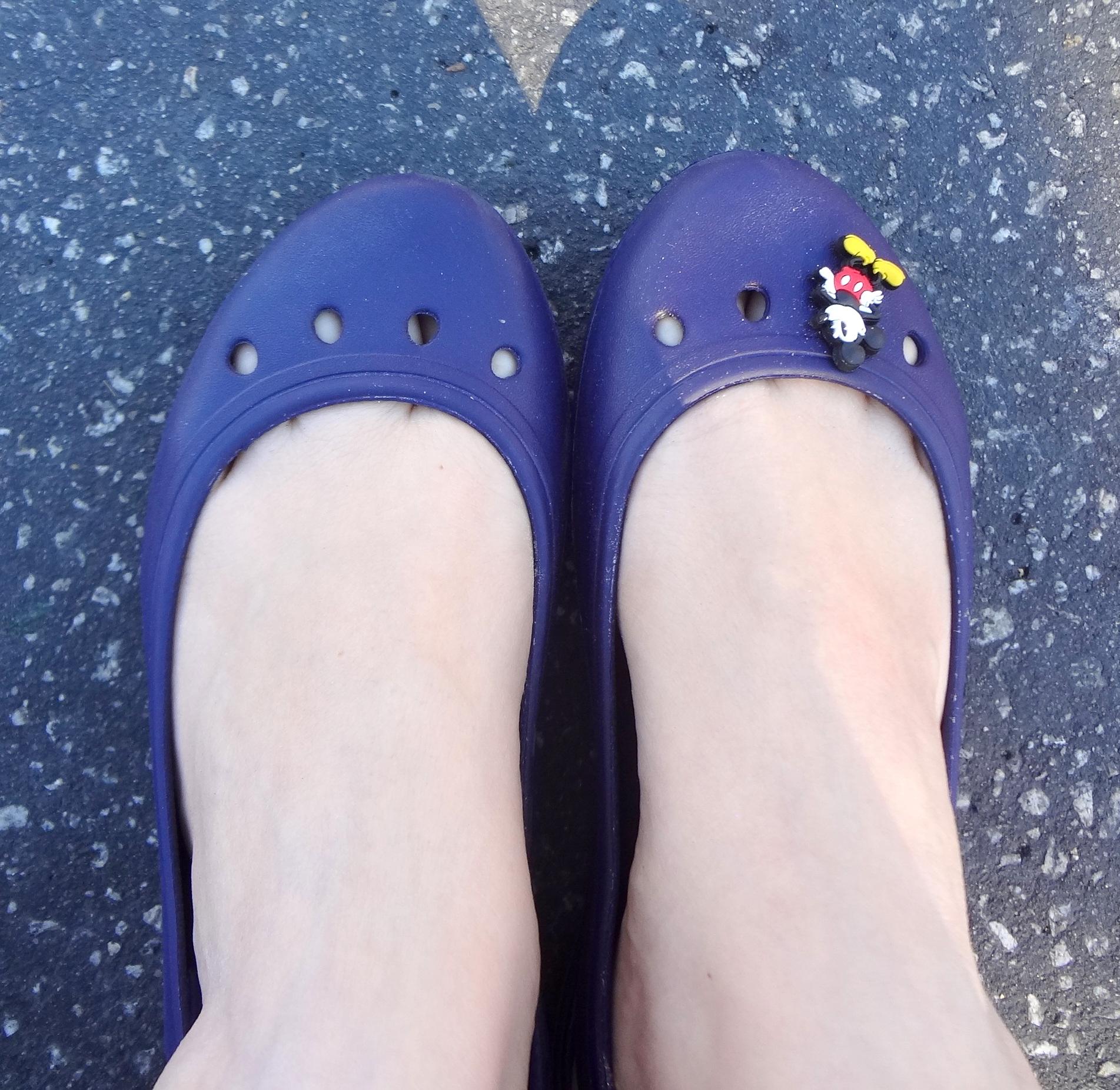 Sapatilha Crocs comprada na própria loja desta marca no Florida Mall