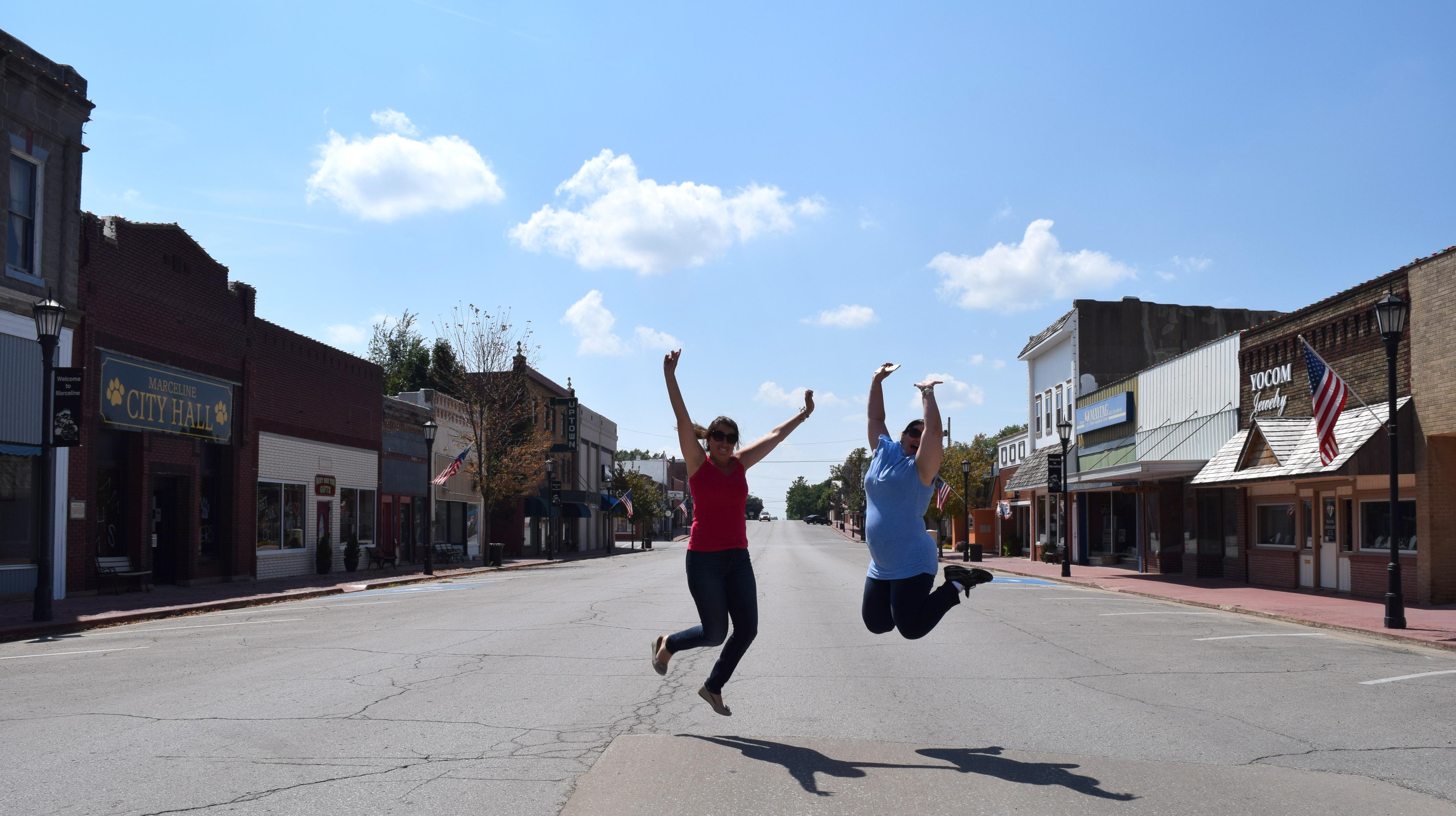 Main Street USA, em Marceline.