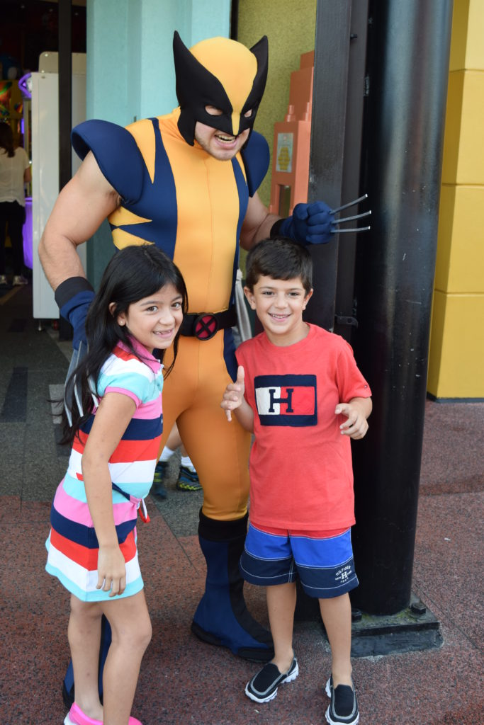 Wolverine no parque Islands of Adventure