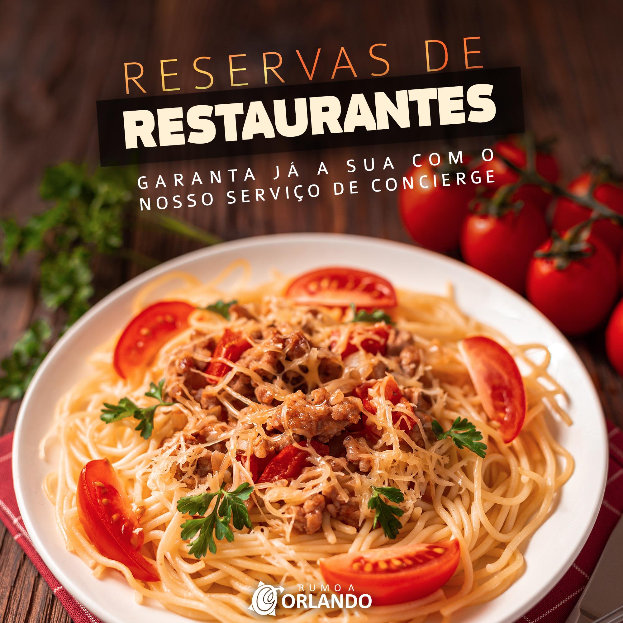 restaurantes disney reserva