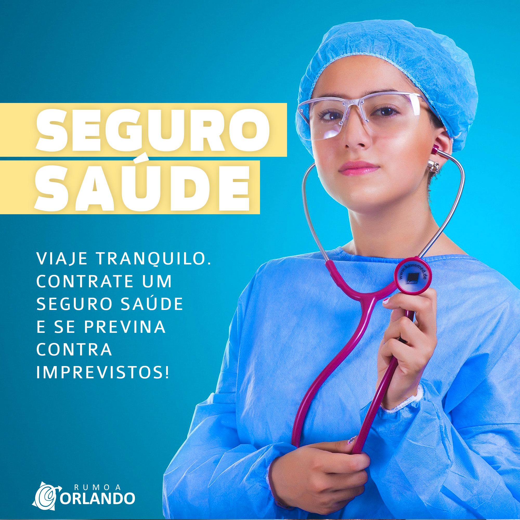 seguro saúde rumo a orlando