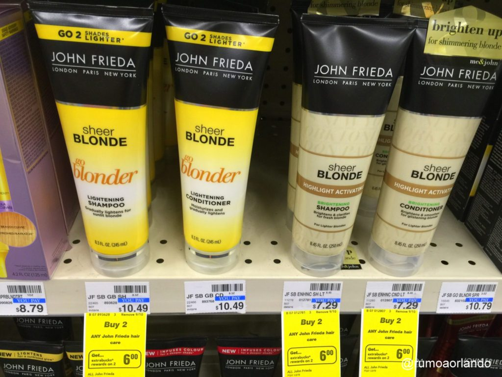 John Frieda para loiras - CVS Pharmacy