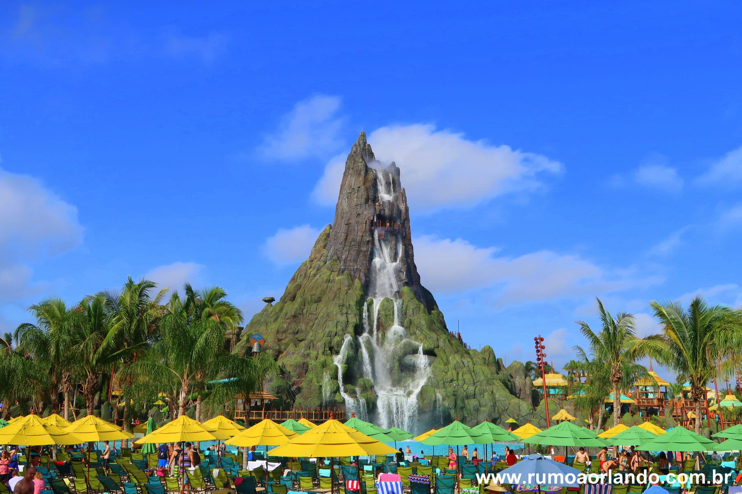 Universal anuncia fechamento temporário do parque volcano bay