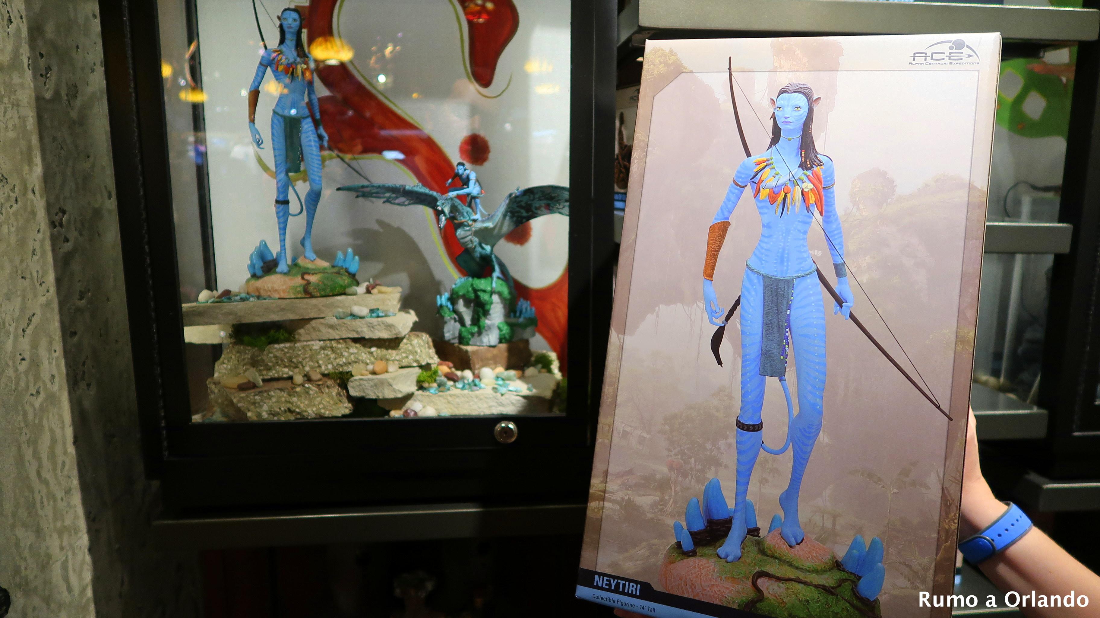 loja do Avatar no Animal Kingdom