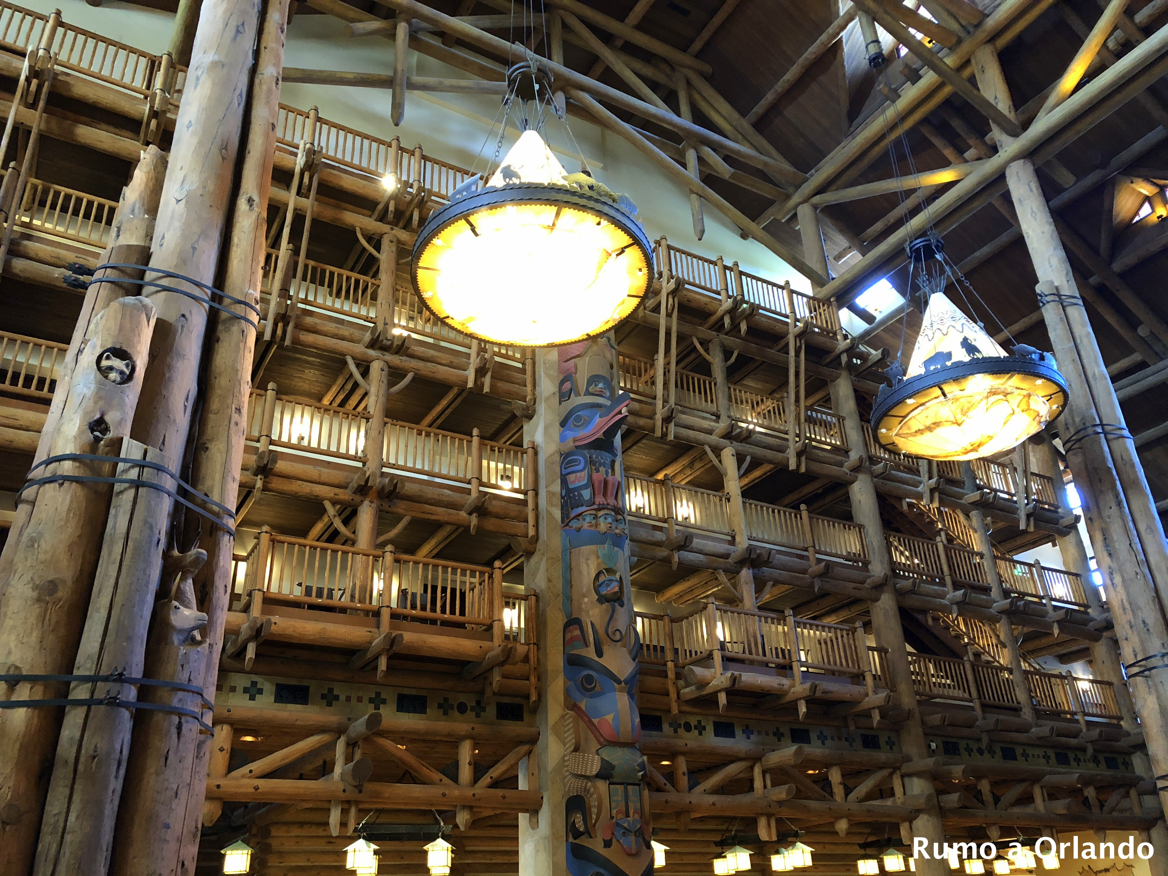 Hotel Wilderness Lodge na Disney