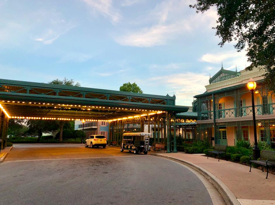 Corrida  Disney's Port Orleans Resort