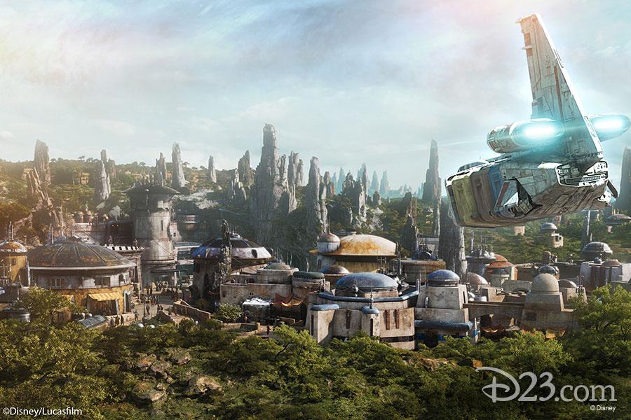 Inauguração Star Wars Galaxy's Edge