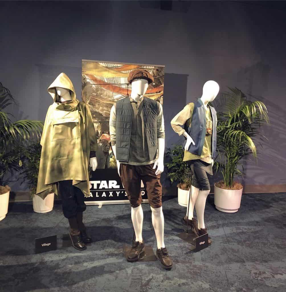 Uniformes da Star Wars Land