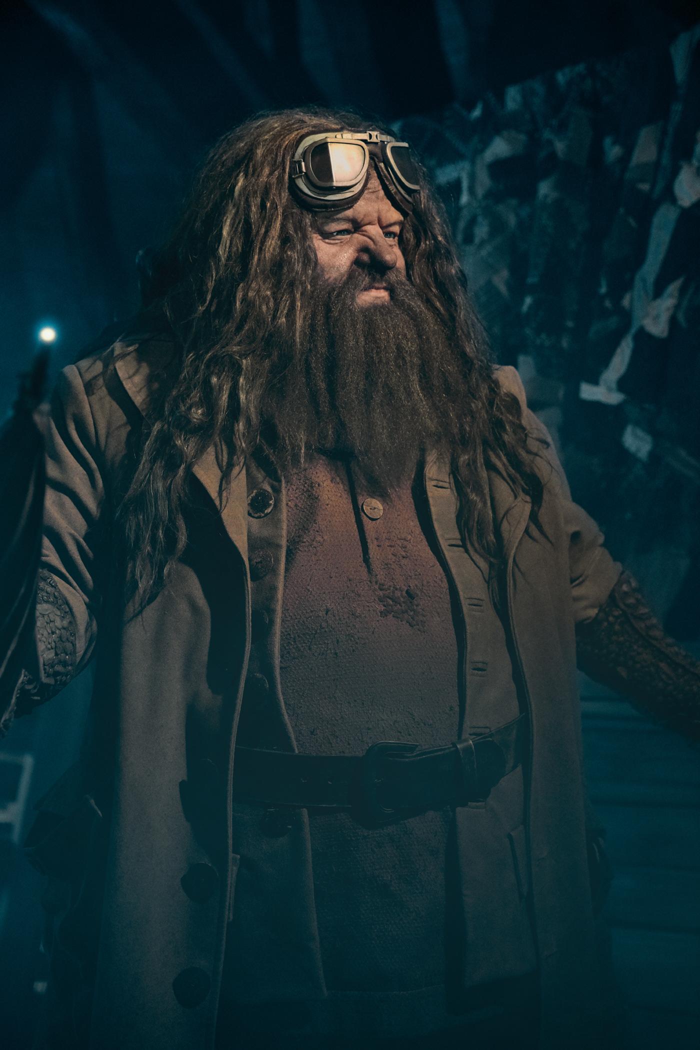 Montanha-russa do Hagrid