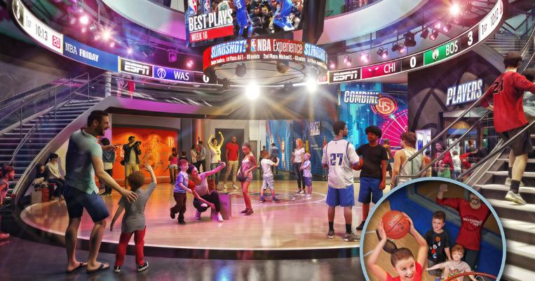 Tickets para o NBA Experience já à venda