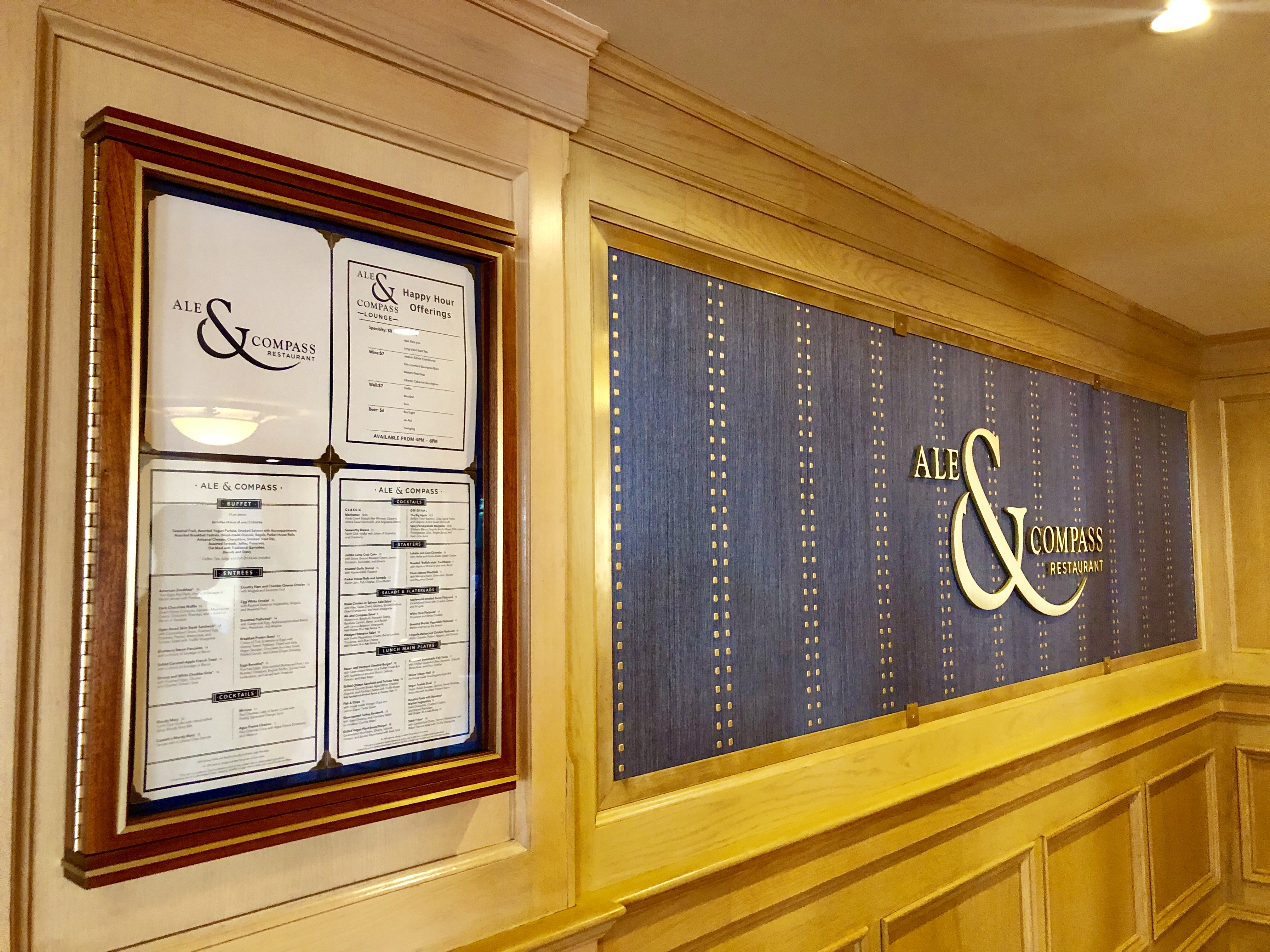restaurante  Ale & Compass