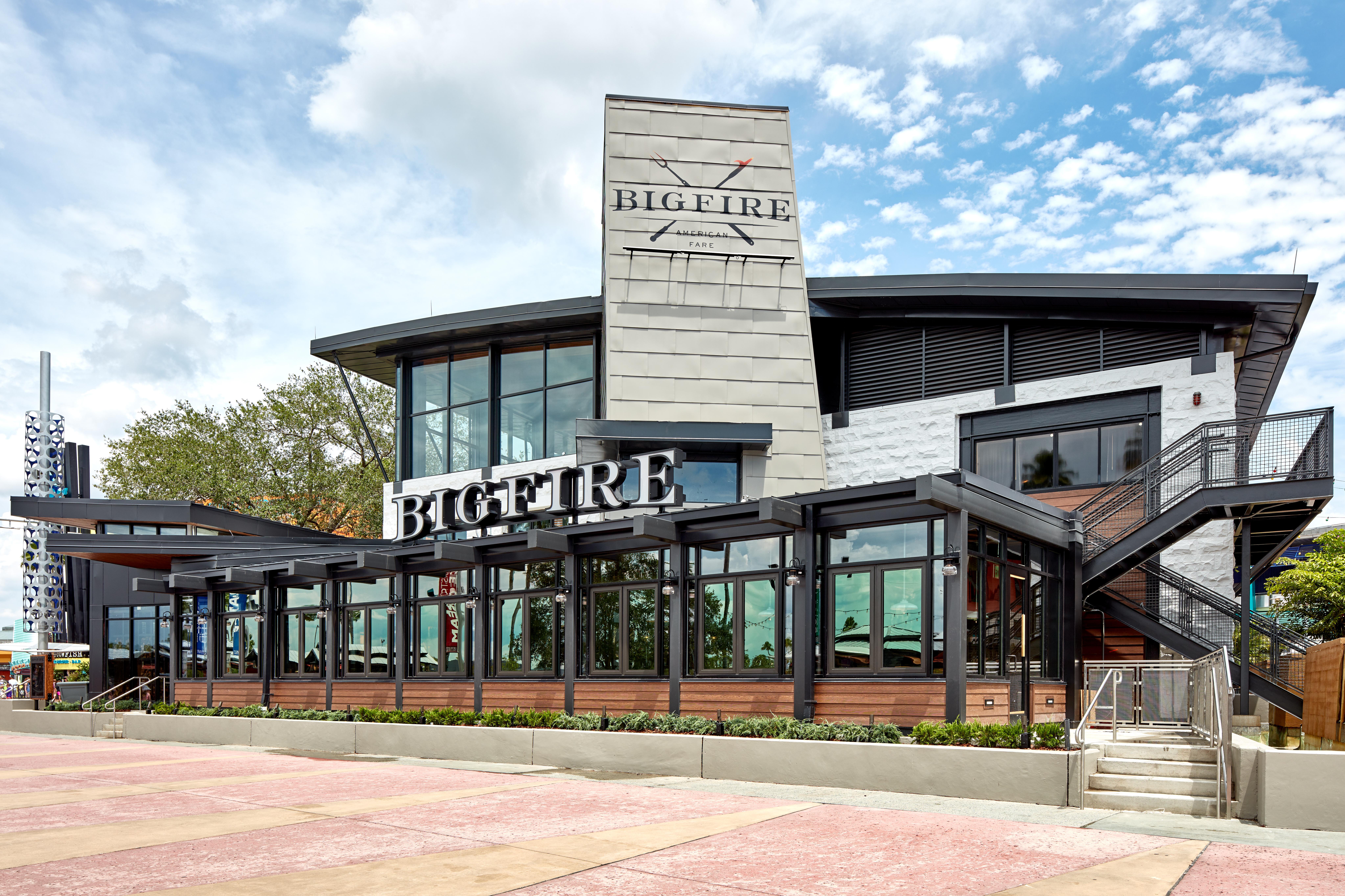 Novo restaurante Bigfire no Universal CityWalk