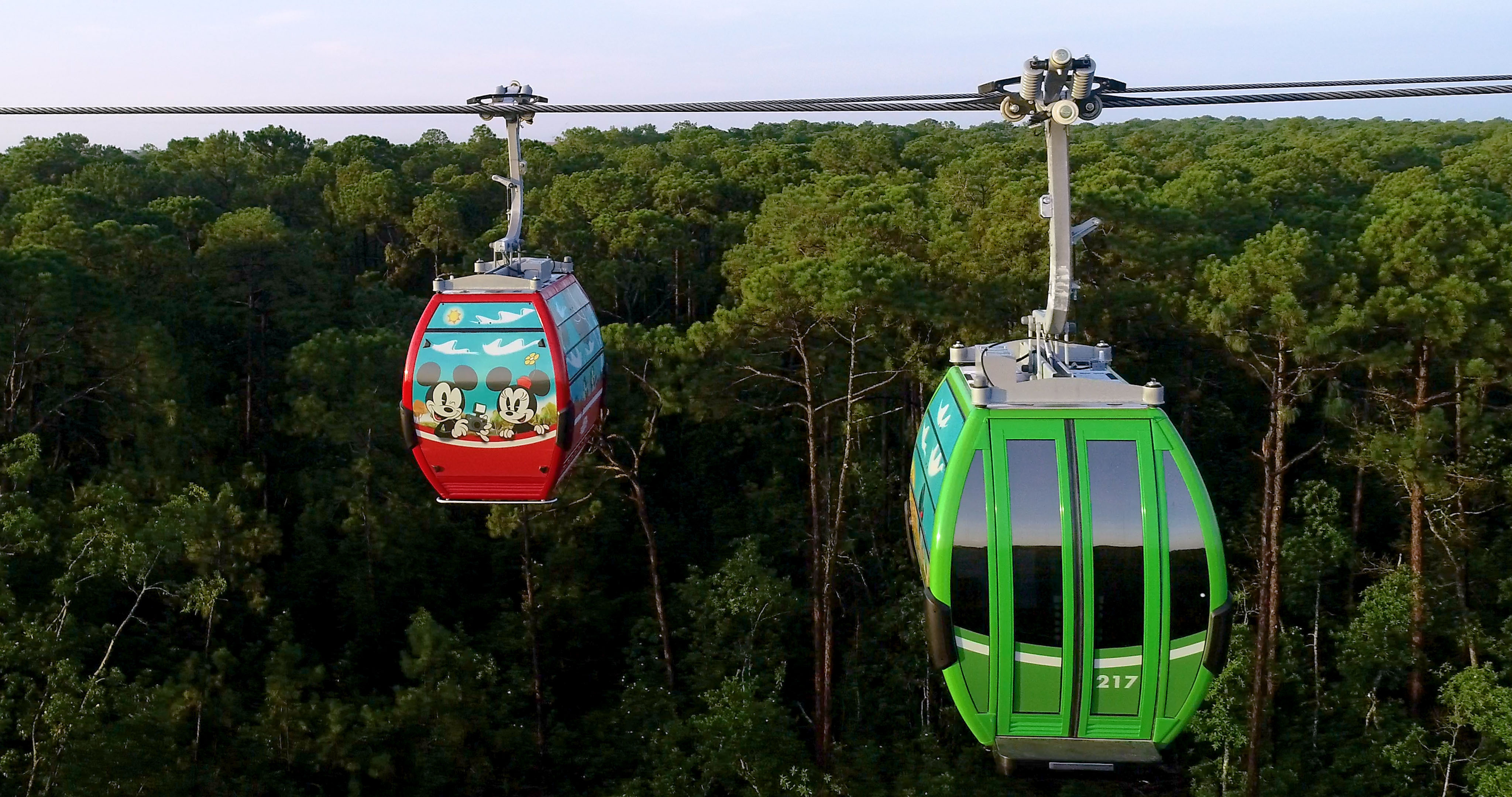 Data de reabertura do Disney Skyliner confirmada
