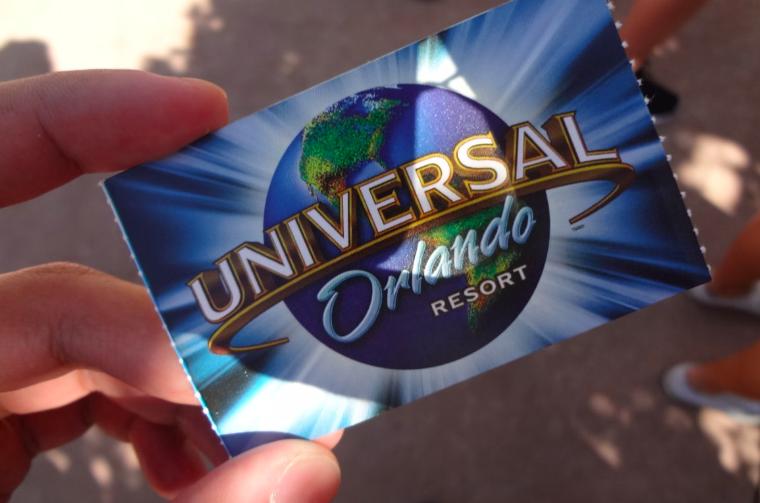 Novo ingresso Universal à venda a partir de 13/02/2020