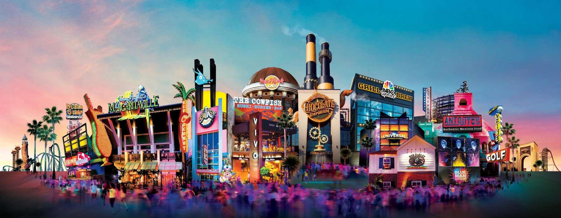Universal CityWalk.