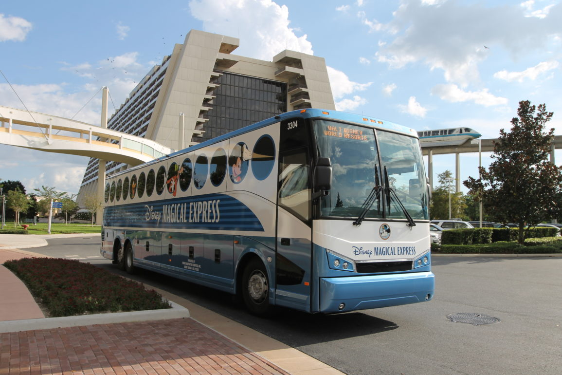 magical express rumo a orlando
