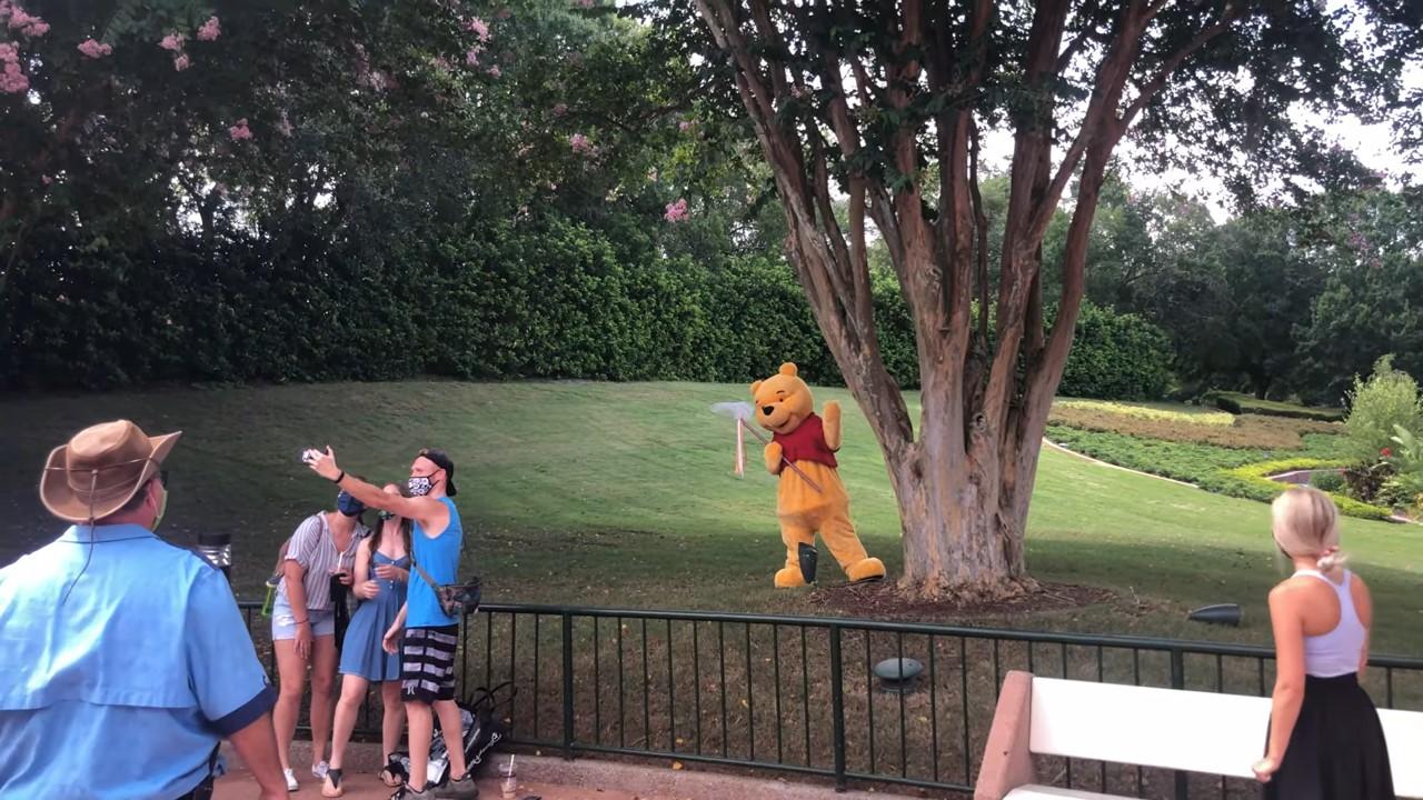 Encontro com Ursinho Pooh