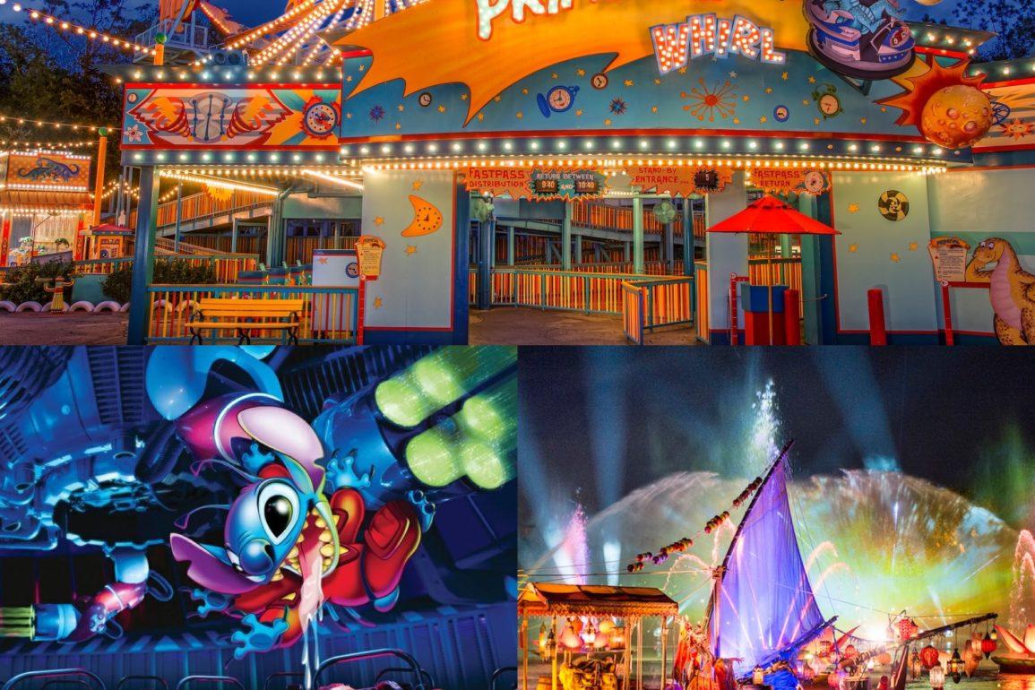 fechamento atrações Disney