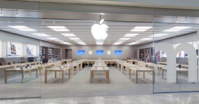 como são as lojas Apple