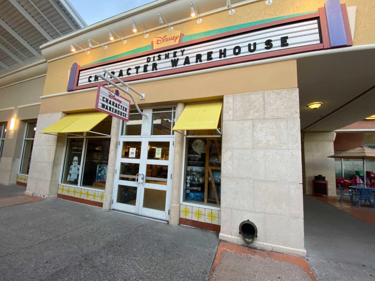 disney's character warehouse