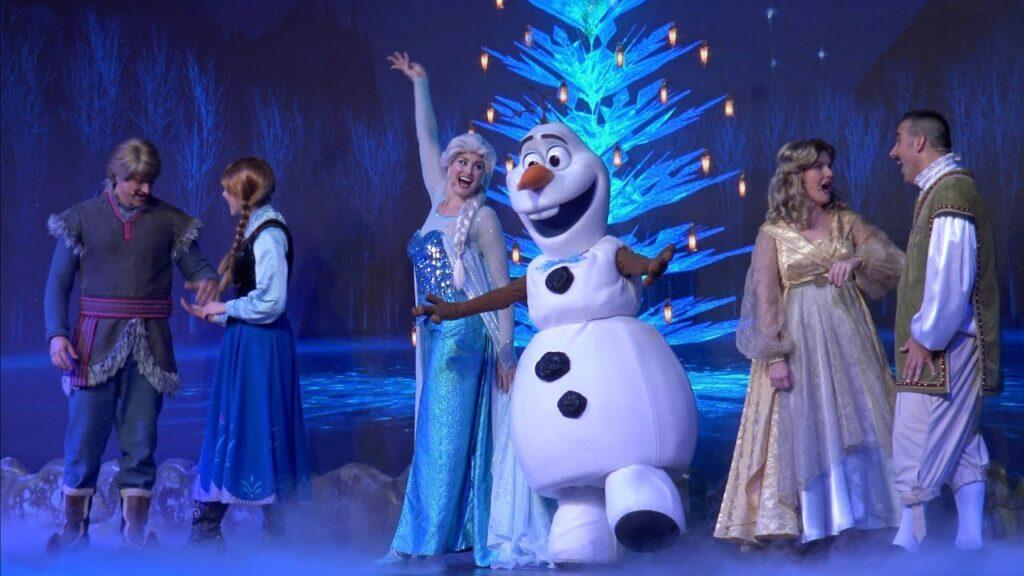 show frozen hollywood studios