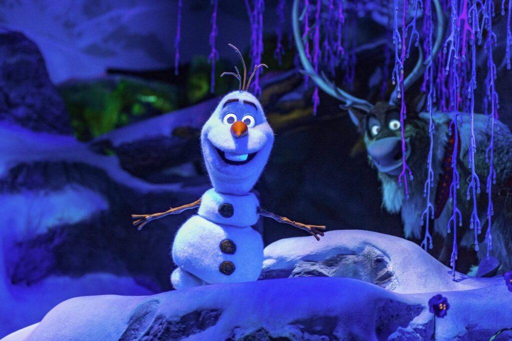 Fechamento temporário Frozen Ever After
