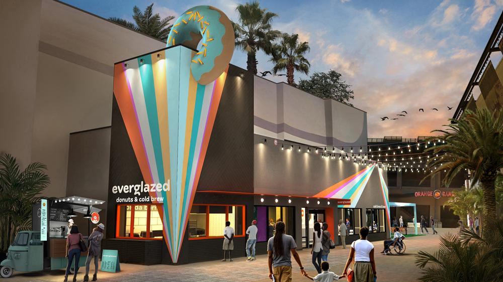 Disney divulga prospecto da Everglazed Donuts & Cold Brew em Disney Springs