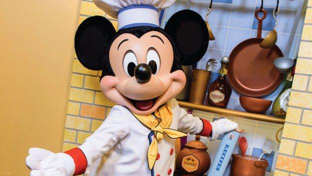 Disney anuncia retorno dos personagens no Chef Mickey's
