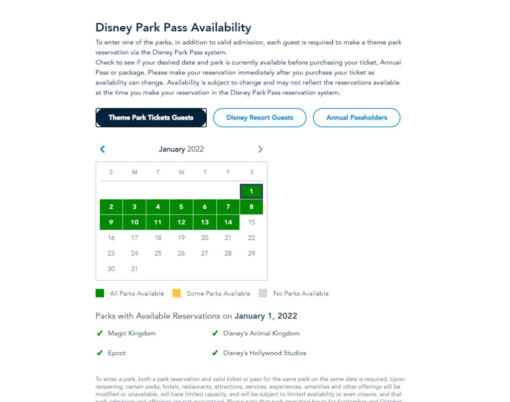 Disney libera novas datas de agendamento de visitas