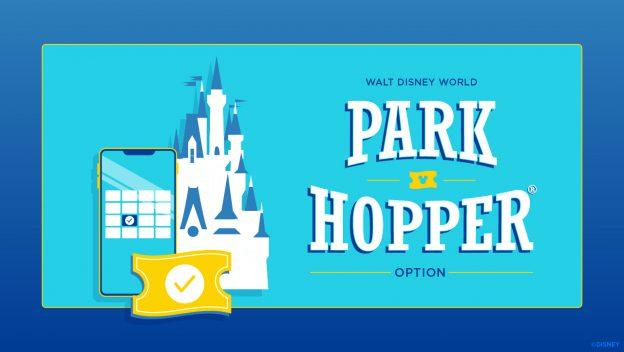 Disney retorna com Park Hopper a partir de janeiro de 2021