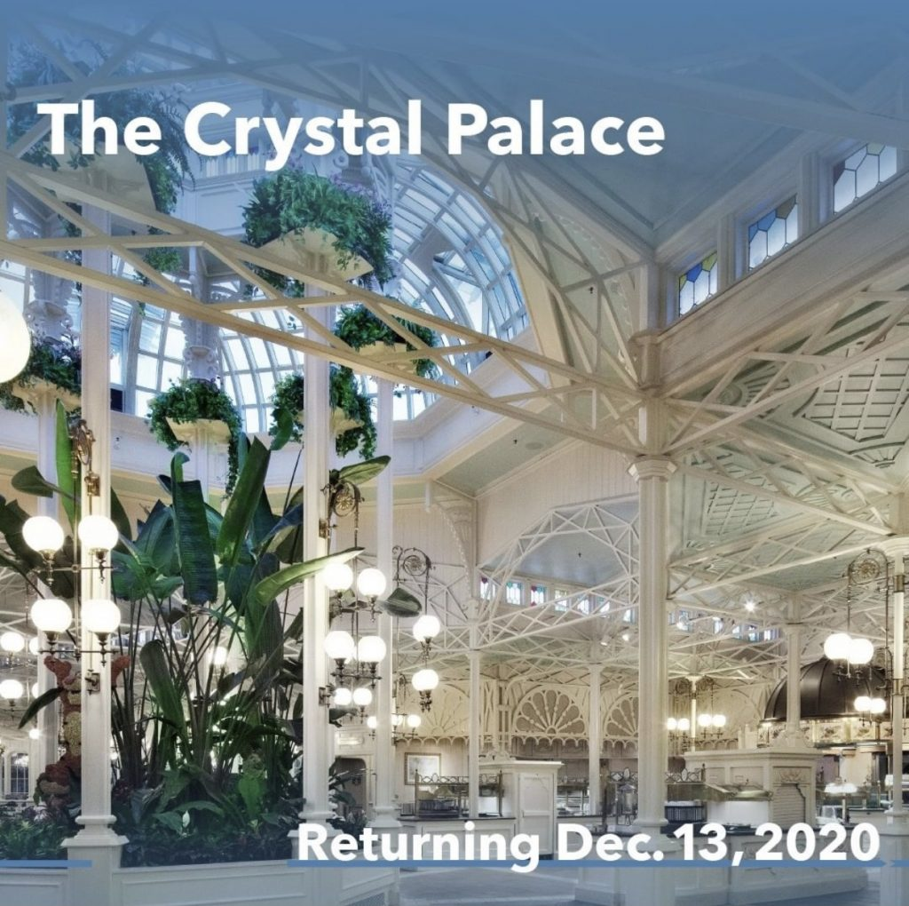 crystal palace magic kingdom