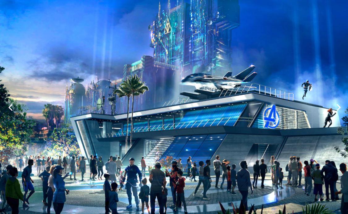 Avengers Campus Disney Califórnia