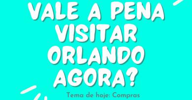 Vale a pena visitar Orlando agora? Tema: Compras