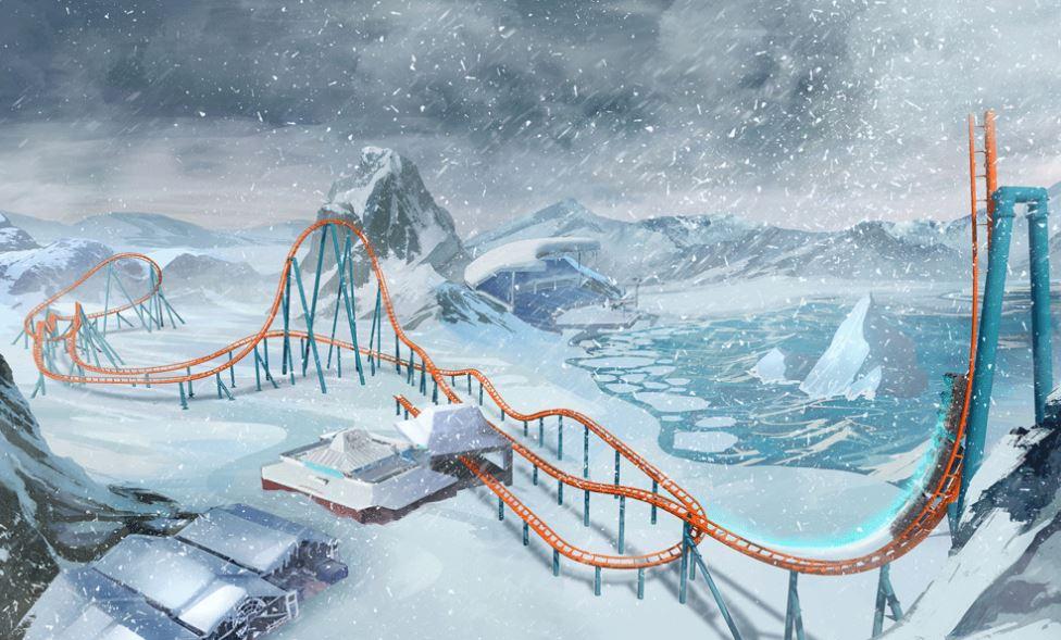 Ice Breaker sea world