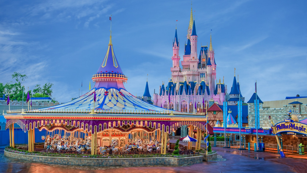 Prince Charming Regal Carrousel magic kingdom