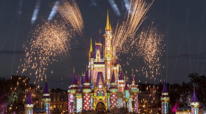 Fogos de Artifício no Magic Kingdom