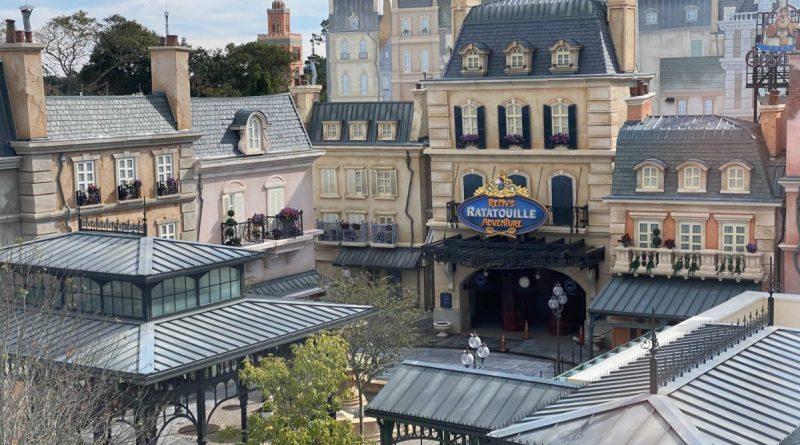 Remy's Ratatouille Adventure será inaugurada em 1º de outubro