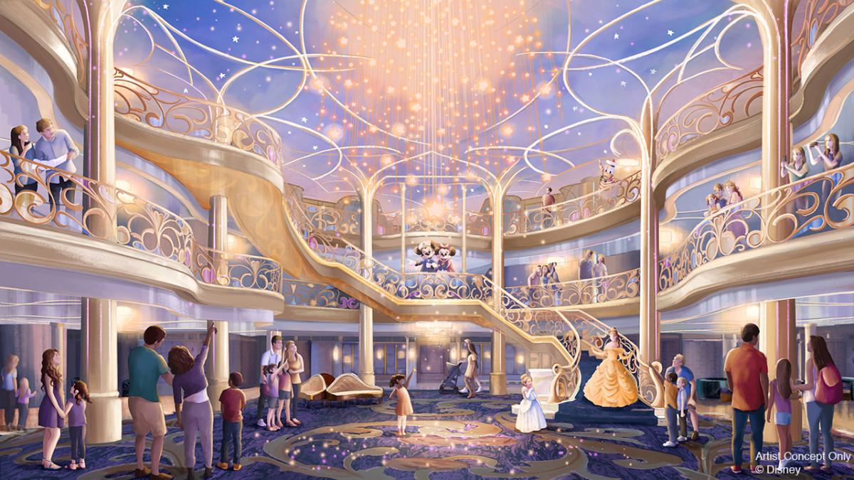 Disney Cruise Line lança novos cruzeiros para a primavera de 2022