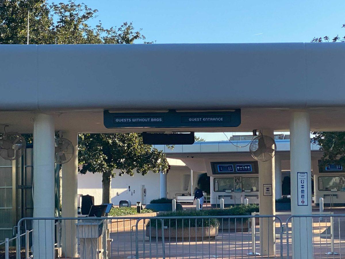 Nova entrada do parque Epcot foi inaugurada para os visitantes