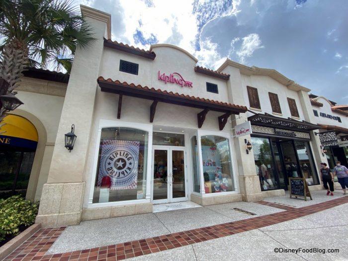loja da kipling encerra suas operações em Disney Springs