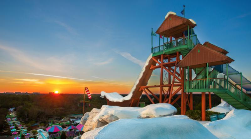Disney divulga data de reabertura de seu parque aquático Blizzard Beach