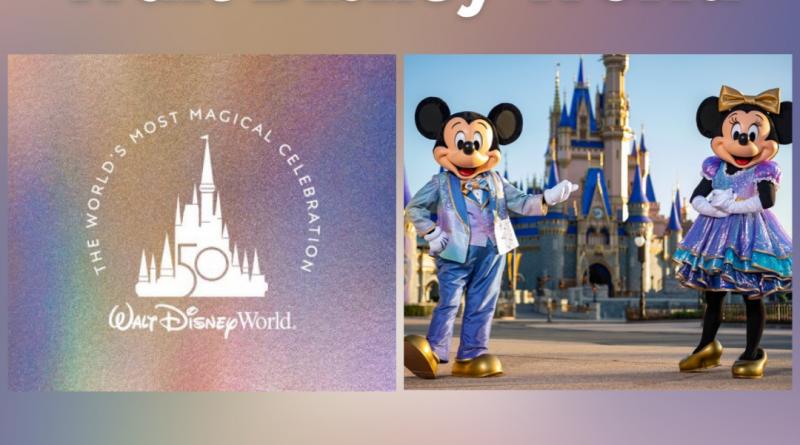 Disney divulga detalhes dos 50 anos do Walt Disney World
