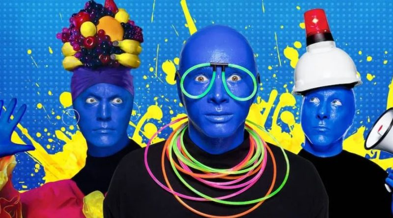 Blue Man Group citywalk universal orlando