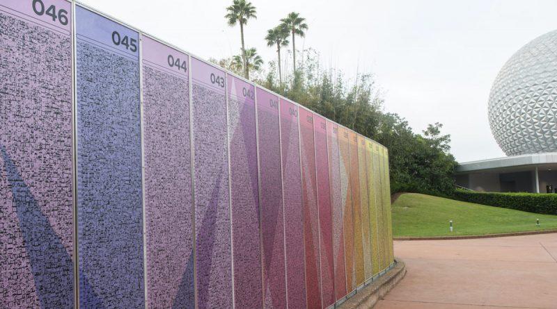 Disney revela a nova exibição do Leave a Legacy no parque Epcot