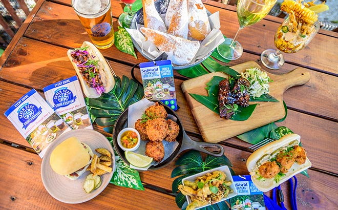 Festivais gastronômicos do grupo SeaWorld acontecendo em Orlando